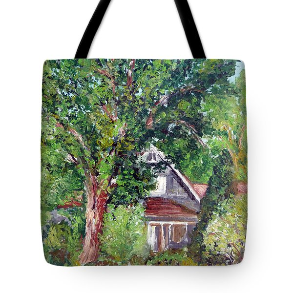 Lesher Homestead Boulder Co Tote Bag by Tom Roderick