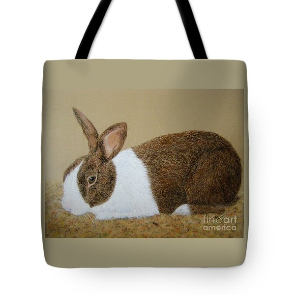 Les's Rabbit Tote Bag