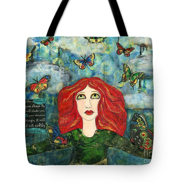 Lessons From A Butterfly Tote Bag