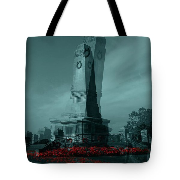Lest We Forget. Tote Bag