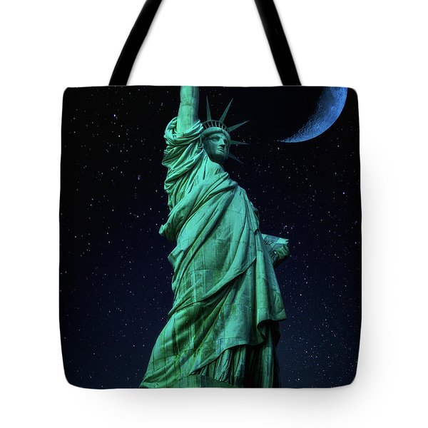 Tote Bag featuring the photograph Let Freedom Ring by Darren White