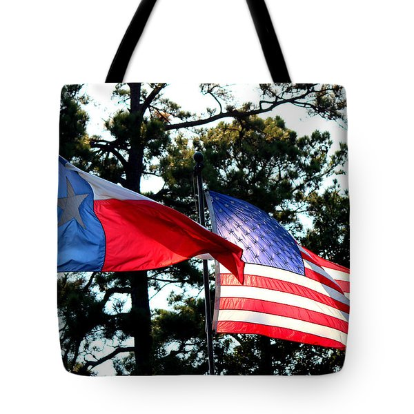 Tote Bag featuring the photograph Let Freedom Ring by Kathy  White