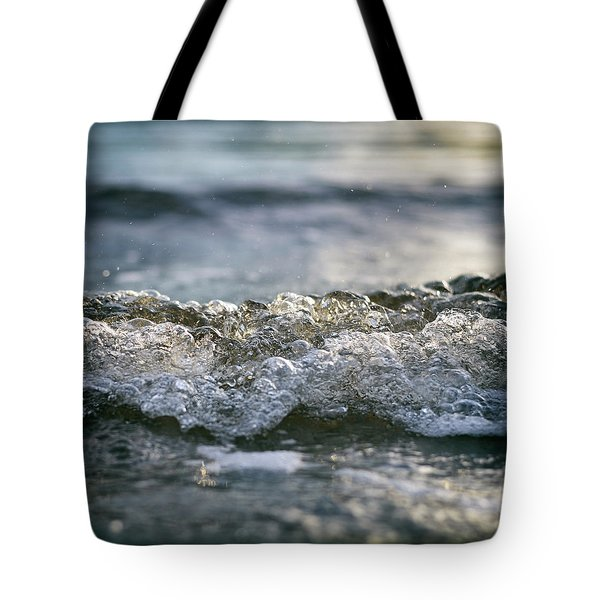 Tote Bag featuring the photograph Let It Come To You by Laura Fasulo