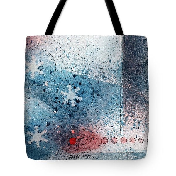 Let It Snow Tote Bag by Monte Toon