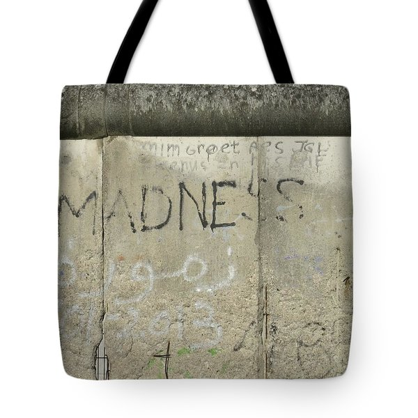 Let Madness Be Their Downfall Tote Bag