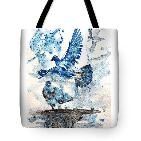 Let Me Free Tote Bag by Jasna Dragun