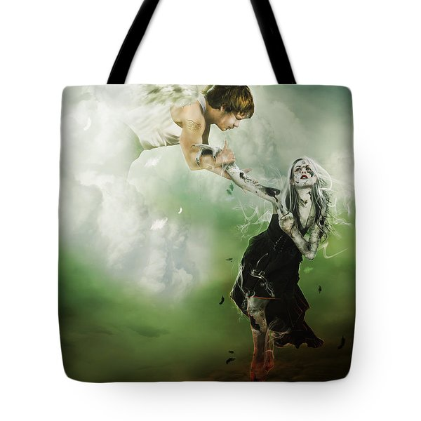 Let Me Go Tote Bag by Mary Hood