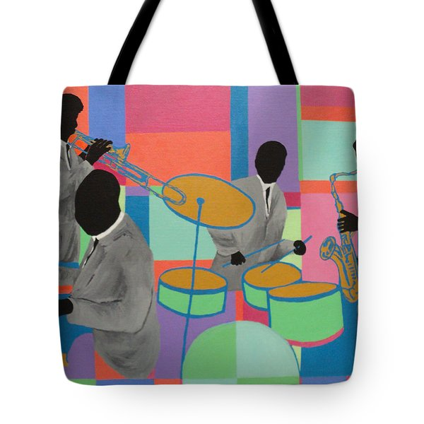 Let The Band Play Tote Bag