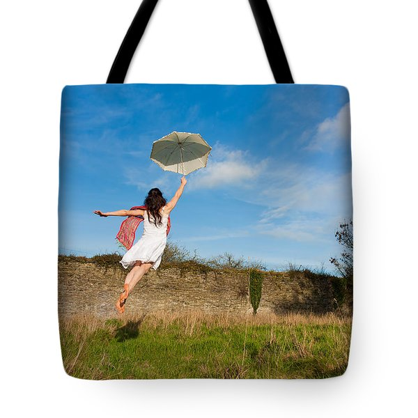 Let The Breeze Guide You Tote Bag