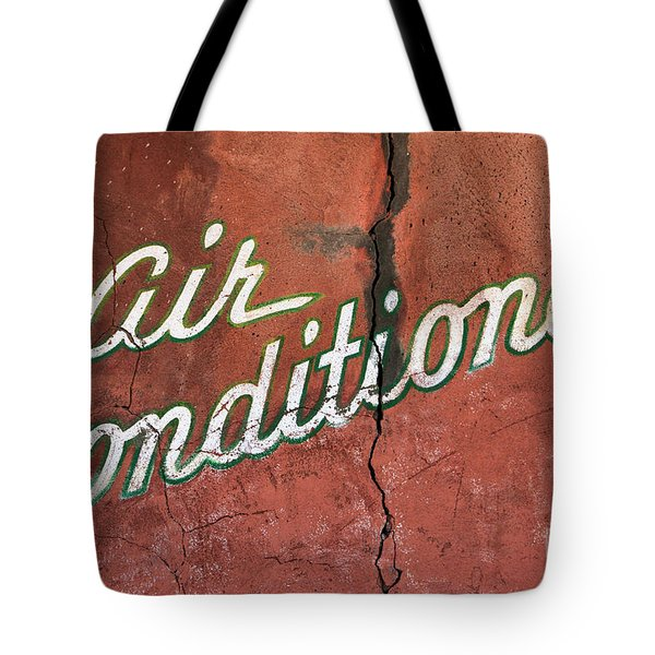 Let The Cool Air In Tote Bag by Phyllis Webster