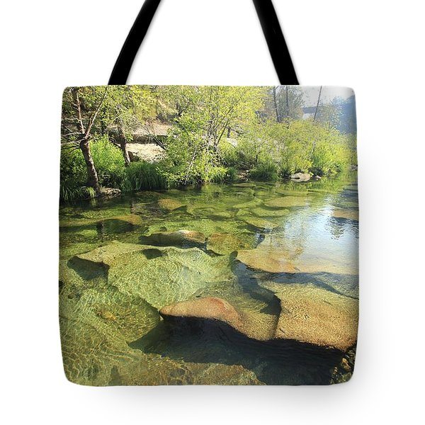 Tote Bag featuring the photograph Let The Light Consume You by Sean Sarsfield