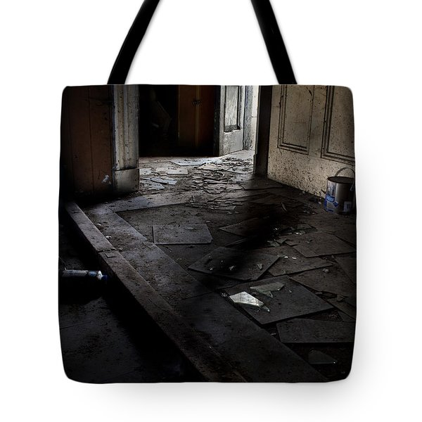Let The Light In. Tote Bag