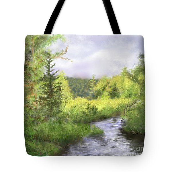 Let The Light Shine In. Tote Bag