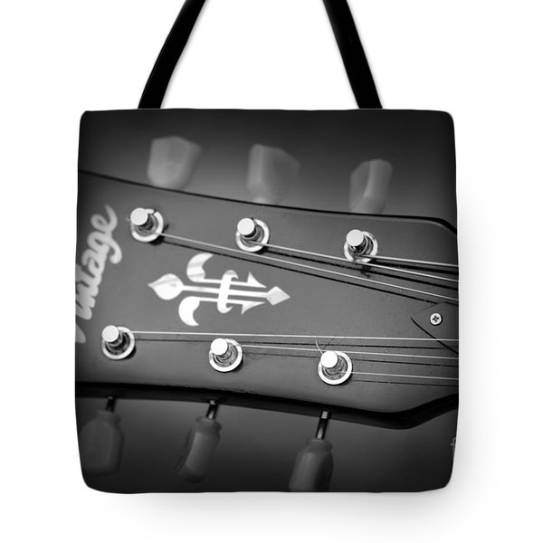 Tote Bag featuring the photograph Let The Music Play by Baggieoldboy