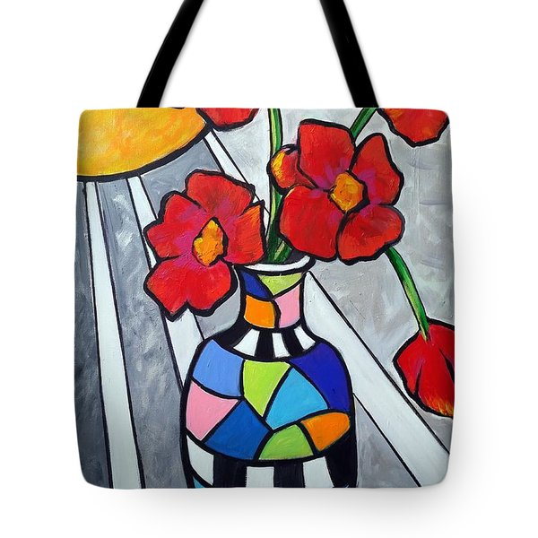 Let The Sun Shine On Tote Bag