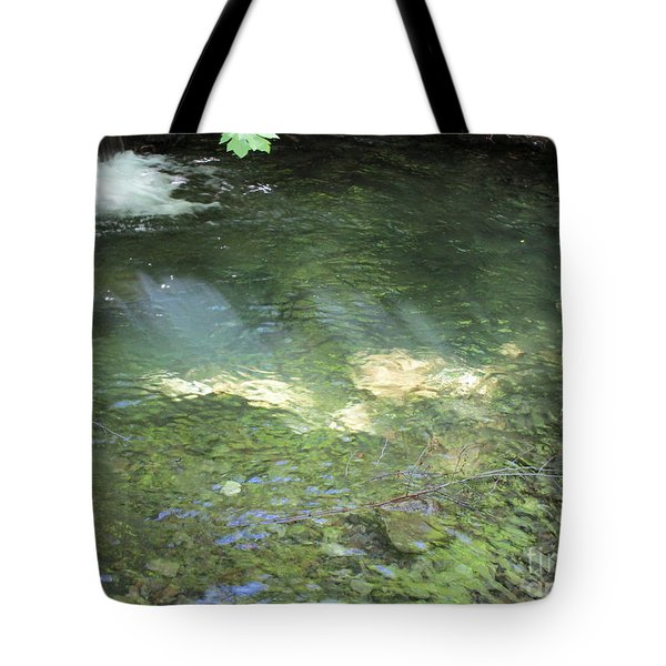Tote Bag featuring the photograph Let The Sunshine by Marie Neder