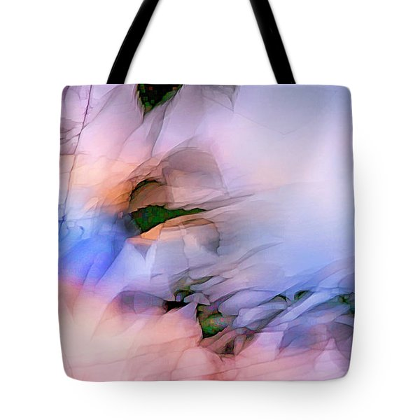 Let The Winds Of The Heavens Dance Tote Bag by Theresa Tahara