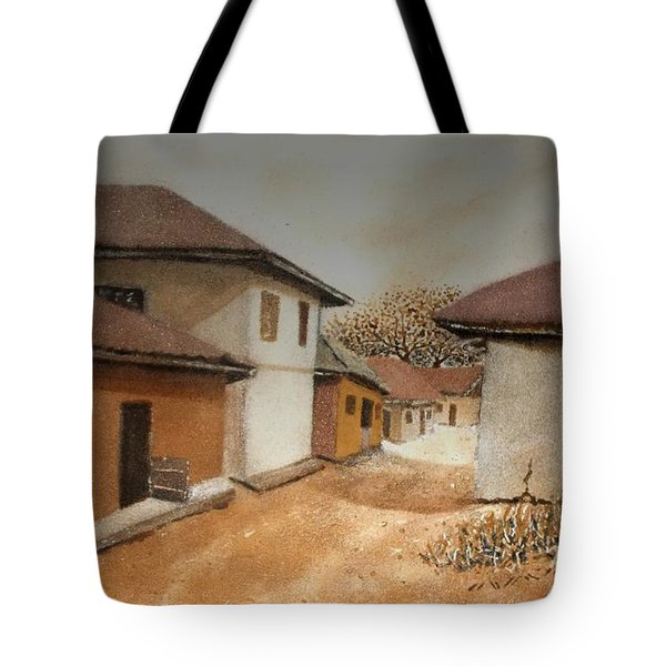 Let There Be Peace In Our Land Tote Bag by Bankole Abe