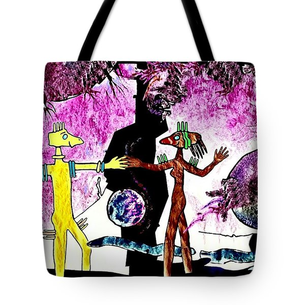 Let  Us  Dance Tote Bag