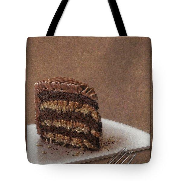 Let Us Eat Cake Tote Bag