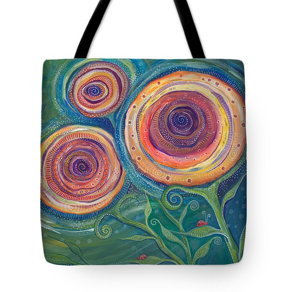 Tote Bag featuring the painting Be The Light by Tanielle Childers