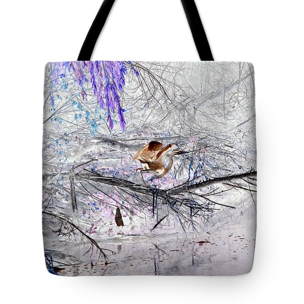 Let Your Mind Fly Away Tote Bag