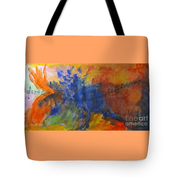 Let Your Music Take Wing Tote Bag