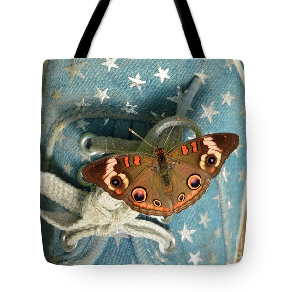 Let Your Spirit Fly Free- Butterfly Nature Art Tote Bag