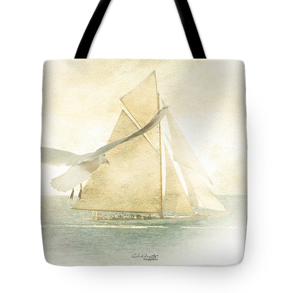 Tote Bag featuring the painting Let Your Spirit Soar by Chris Armytage