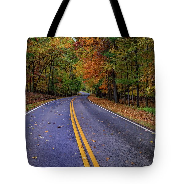 Letchworth Park Road Tote Bag