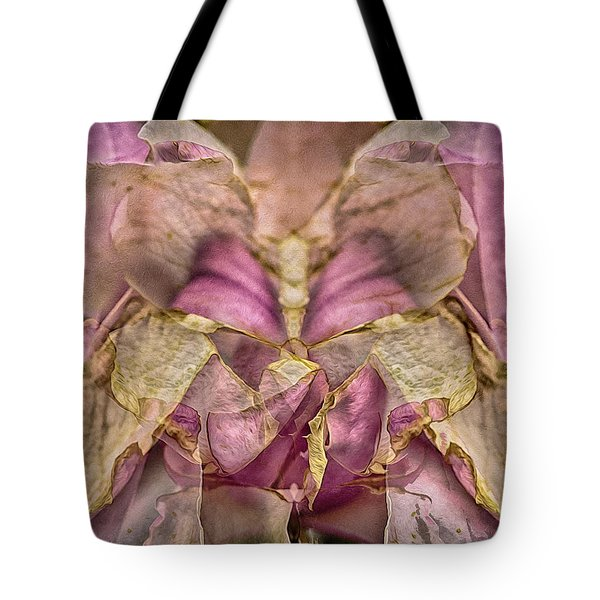 Lether Butterfly Or Not Tote Bag