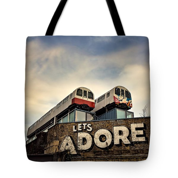 Lets Adore Shoreditch Tote Bag