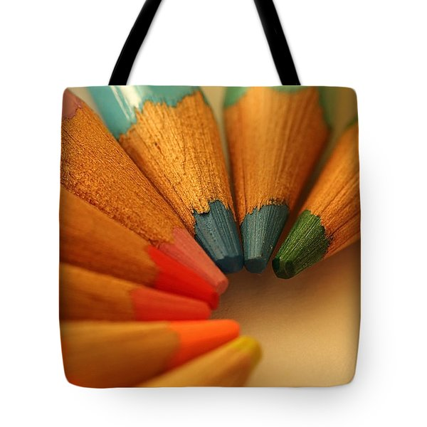 Lets Be Creative Tote Bag by David Warrington