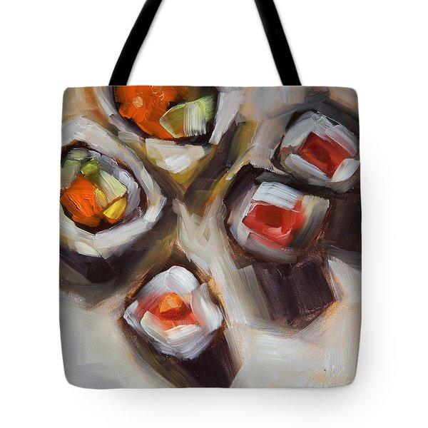 Let's Do Sushi Tote Bag