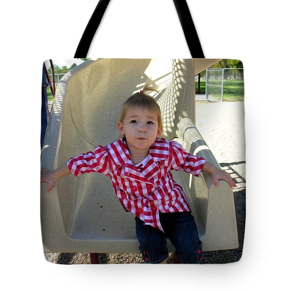 Let's Do That Again Tote Bag