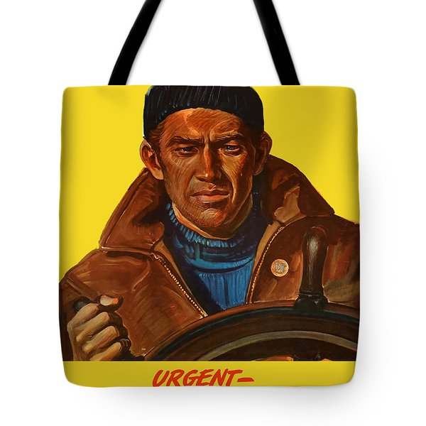 Let's Finish The Job Tote Bag
