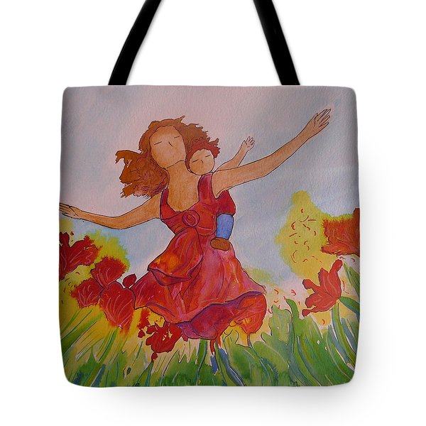Let's Fly  Tote Bag by Gioia Albano