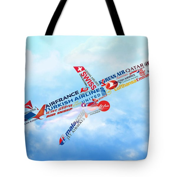 Let's Fly Tote Bag