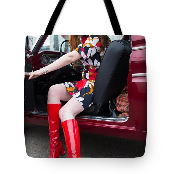 Let's Go, Baby Tote Bag