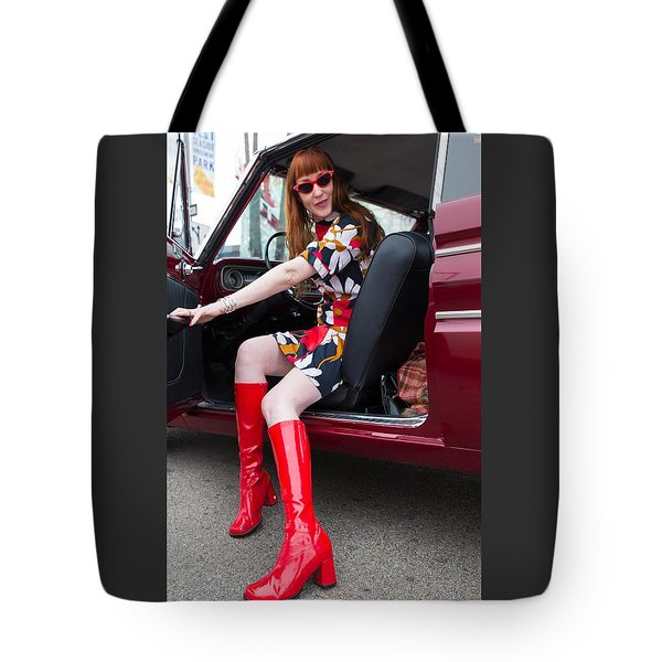 Tote Bag featuring the photograph Let's Go, Baby by Lora Lee Chapman