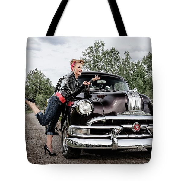 Tote Bag featuring the photograph Let's Go by Brad Allen Fine Art