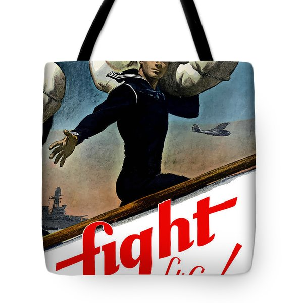 Let's Go Join The Navy Tote Bag