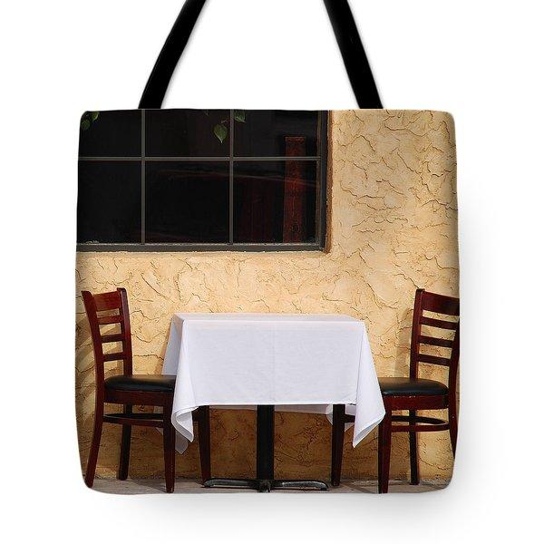Lets Have Lunch Together Tote Bag by Susanne Van Hulst