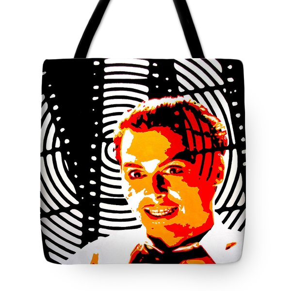 Tote Bag featuring the painting Let's Make A Picture by Rick Baldwin