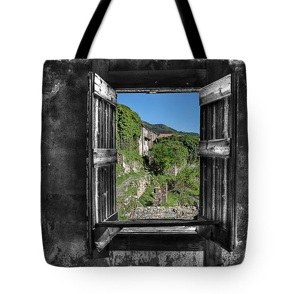 Tote Bag featuring the photograph Let's Open The Windows - Apriamo Le Finestre by Enrico Pelos