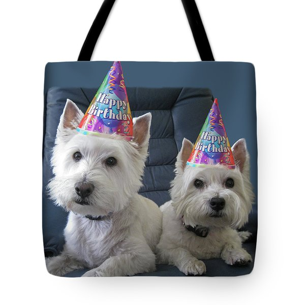 Let's Party Tote Bag by Geraldine Alexander
