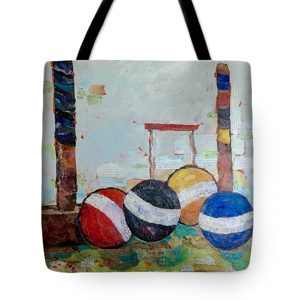 Let's Play Croquet Tote Bag