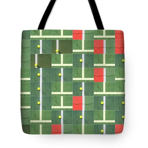 Let's Play Some Tennis Tote Bag