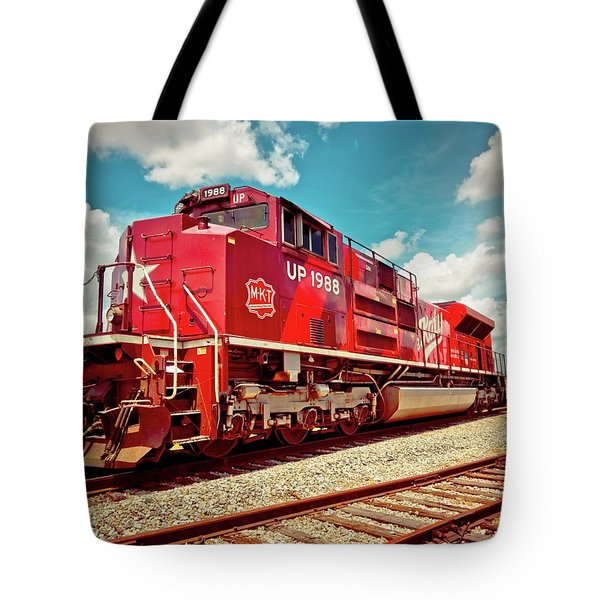 Let's Ride The Katy Tote Bag