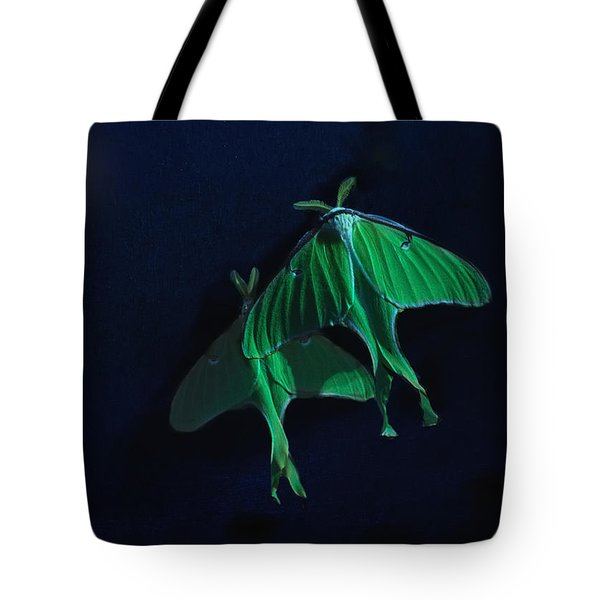 Tote Bag featuring the photograph Let's Swim To The Moon by Susan Capuano